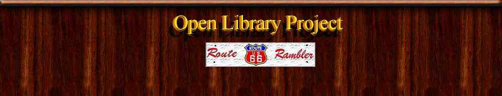 Route 66 Rambler's Open Library Project
