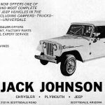 1970 Jack Johnson Jeep Commando Ad
