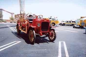 1917 Nash Fire Truck