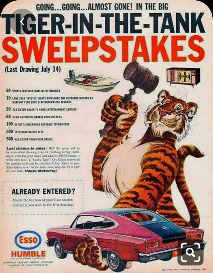 1966 Rambler Marlin Sweepstakes Ad